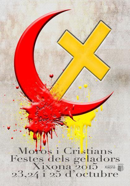 Festes de Moros i Cristians dels geladors. Xixona 2015