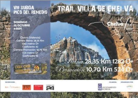 VIII SUBIDA PICO DEL REMEDIO -Trail Villa de Chelva