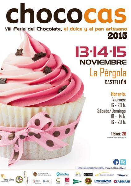 Chococas 2015 Feria del chocolate, el dulce y el pan artesano, en Castellón