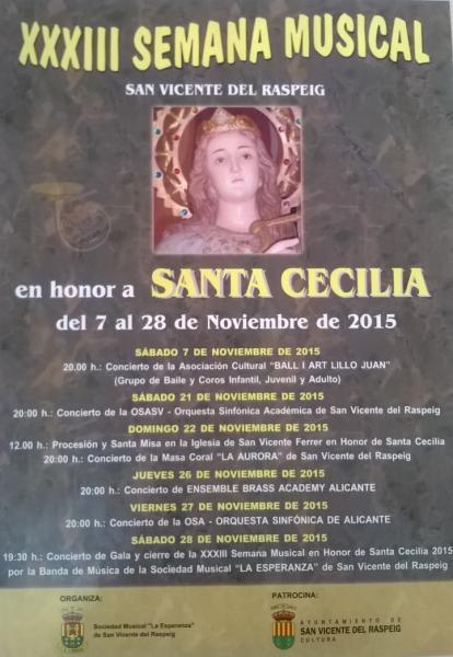 XXXIII Semana Musical San Vicente del Raspeig