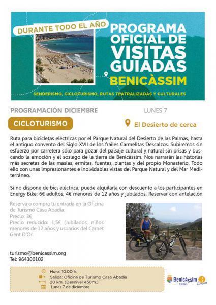 Excursión Cicloturismo por el Desierto de las Palmas