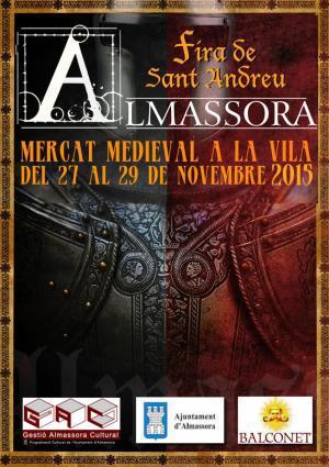 """Mercado Medieval de Almassora: """"Fira de Sant Andreu"""""""