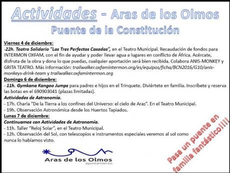 ARAS DE LOS OLMOS - Puente de la Constitución 2015