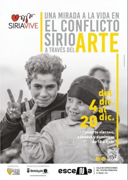 Exposición: El conflicto sirio a través del arte