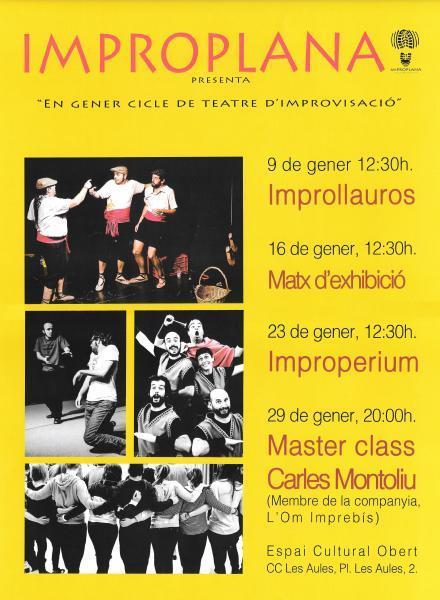 Ciclo de Improvisacion Teatral en Castellón