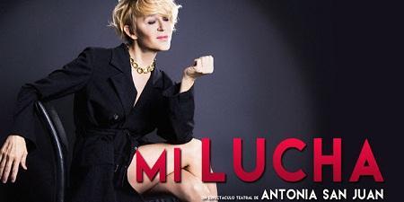 Antonia San Juan en el Teatre Talia