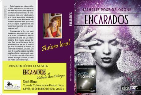"""Presentación Novela """"Encarados"""" por Nathalie Rose Delorgne"""