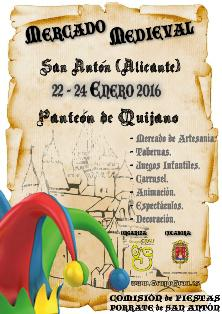 Mercado Medieval del Porrate de San Antón de Alicante 2016
