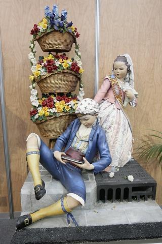 Exposición del Ninot en el Museo de las Ciencias Príncipe Felipe