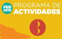 Programa Actividades Febrero 2016 - Benicàssim