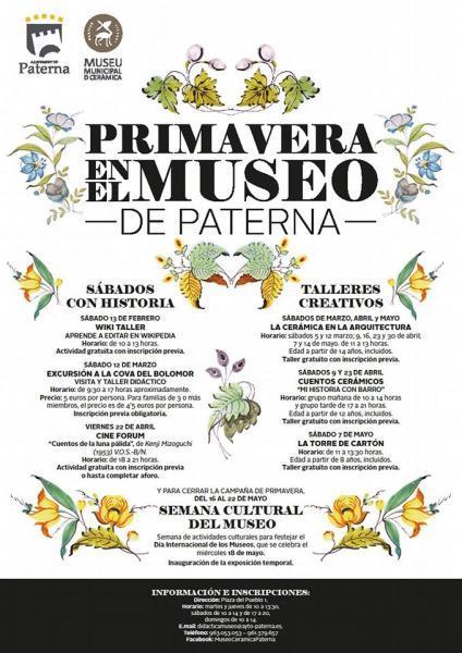 Primavera en el Museo de Paterna