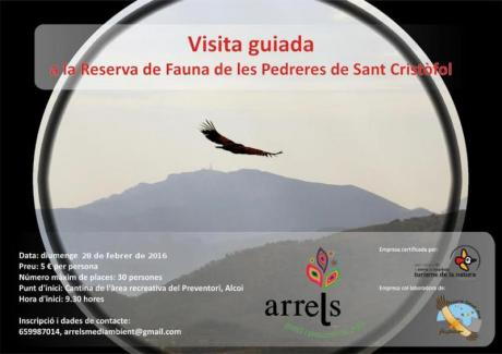 Guided visit to les Pedreres de Sant Cristòfol