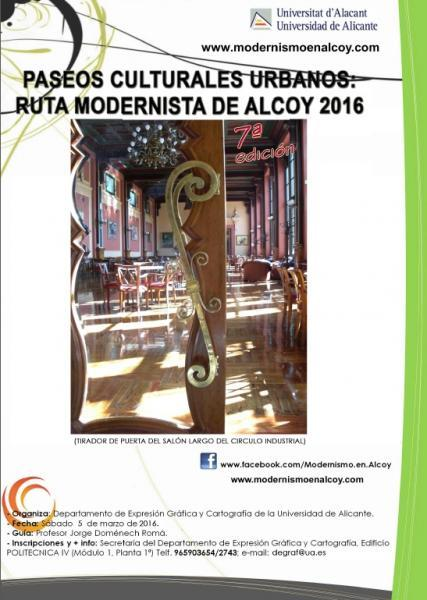 Ruta Modernista de Alcoy