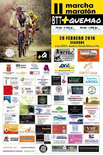 II Marcha Maratón BTT +QUEMAO en Segorbe