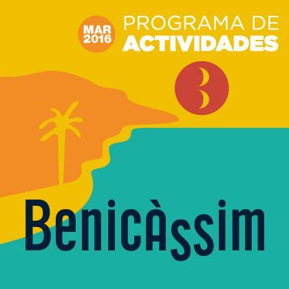 Programa de Actividades Marzo 2016 en Benicàssim