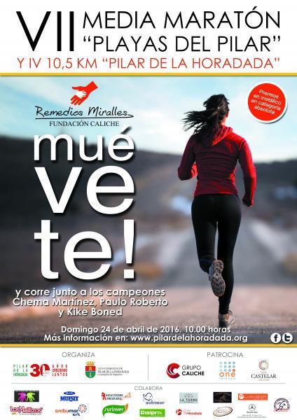 VII Media Maratón Playas del Pilar y IV 10.5 km Pilar de la Horadada 2016
