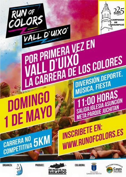 I Run of Colors en La Vall d'Uixó