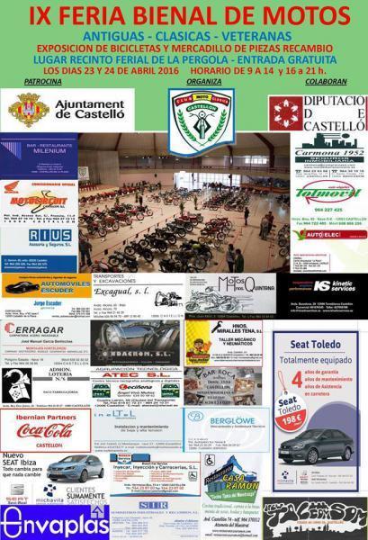 IX Feria Bienal Motos Clásicas, Antiguas y Veteranas