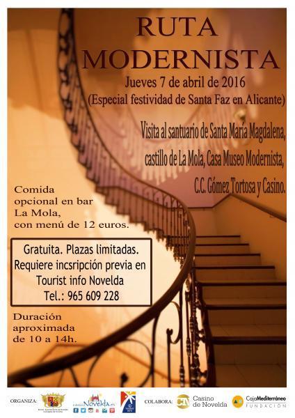 Ruta Modernista en Novelda