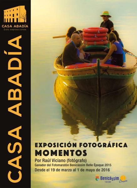 """Exposición fotográfica: """"Momentos"""" Raúl Viciano"""