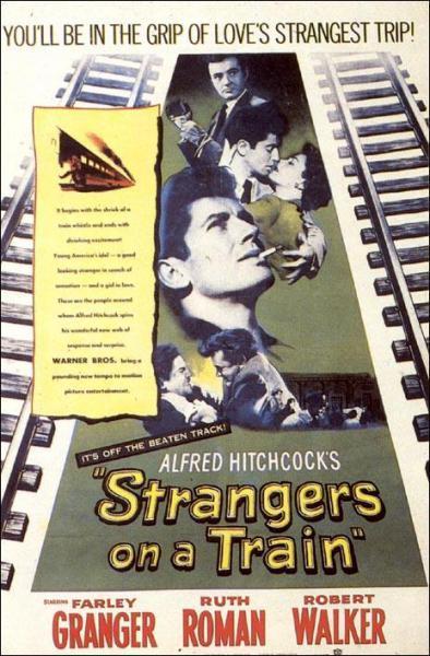 Cine: Extraños en un tren