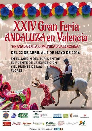 XXIV Gran Feria Andaluza en Valencia