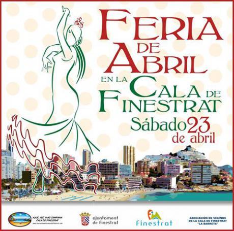 Feria de Abril en La Cala de Finestrat Sábado 23 de Abril