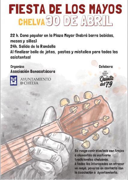 FIESTA DE LOS MAYOS - Chelva 2016