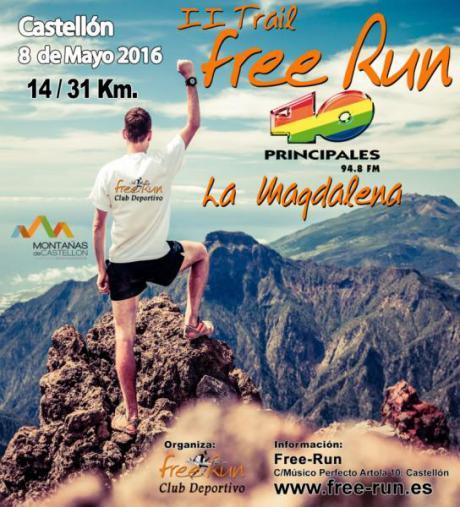II Trail Free Run- La Magdalena 2016