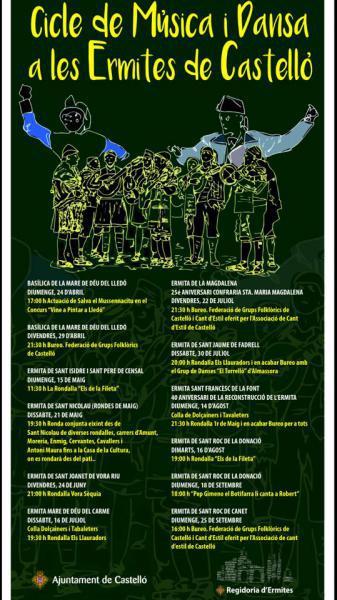 Ciclo de Música y Danza en las Ermitas de Castellón