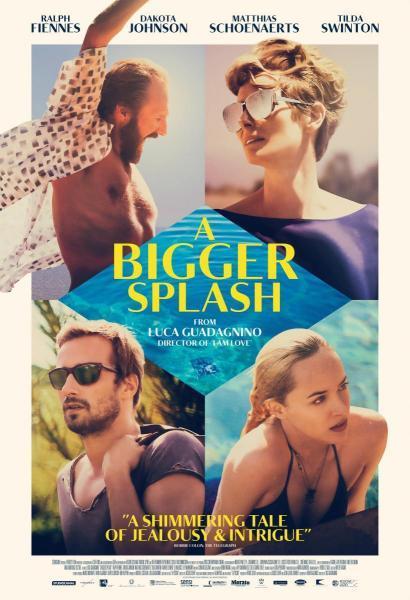 Cine: A bigger splash (Cegados por el sol)