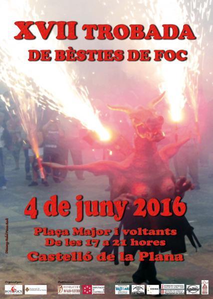 """Trobada de Bèsties de Foc"" en Castellón"
