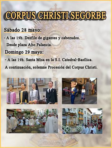 Festividad del Corpus Christi en Segorbe