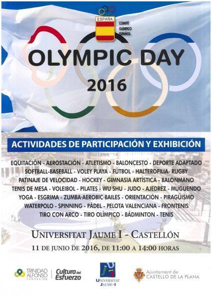 Celebración del Día Olímpico en Castellón