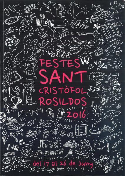 Festes Patronals en honor a San Cristòfol en Rossildos