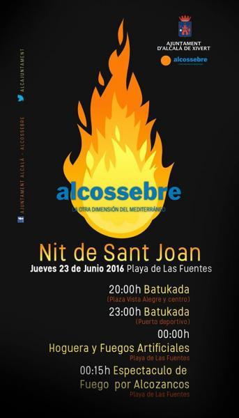 NOCHE DE SANT JOAN EN ALCOSSEBRE