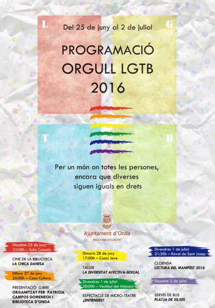 PROGRAMACIÓ ORGULL LGTB