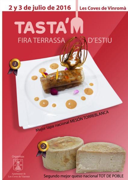 "I Feria Terraza de Verano ""Tasta'm"""