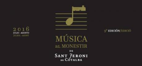 Música al Monasterio de Sant Jeroni  de Cotalba