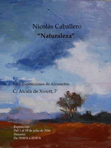 """EXPOSICIÓN DE NICOLÁS CABALLERO """"NATURALEZA"""""""