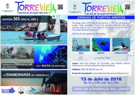 Torrevieja Nautical Experience Jornadas Puertas Abiertas