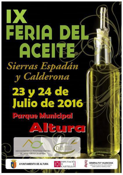 IX Feria del Aceite Sierra Espadán Calderona en Altura