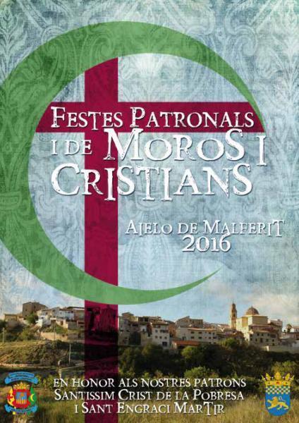 Fiestas de Moros y Cristianos Aielo de Malferit 2016