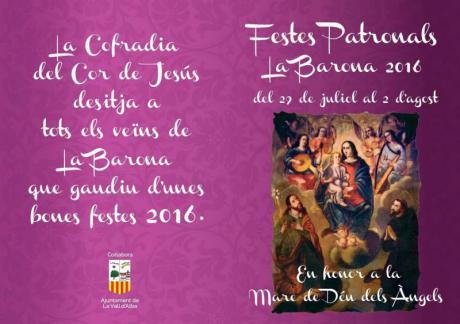 Fiestas de la Barona en Vall d'Alba