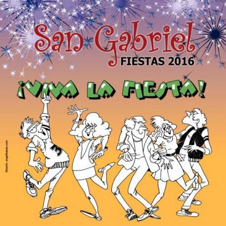 Fiestas tradicionales de San Gabriel 2016
