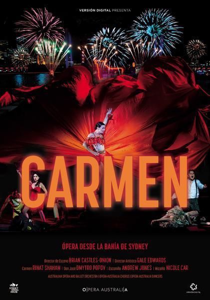 Cine: Carmen. Ópera desde la bahía de Sidney en Australia