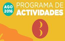 Programa de Actividades 1ª quincena Agosto 2016 Benicàssim