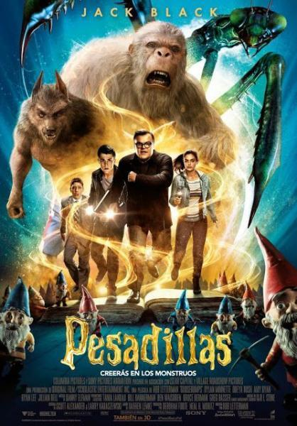Cinema in the street of Benissa: Pesadillas