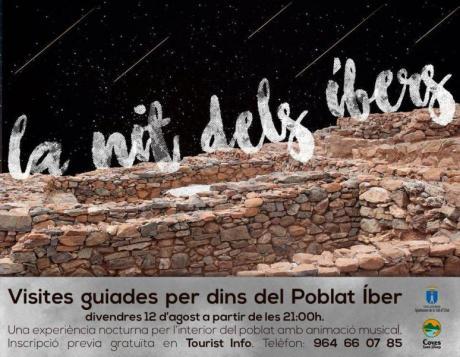 Visitas guiadas nocturnas al poblado íbero
