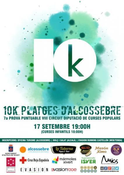 """10K """"PLATGES D'ALCOSSEBRE"""""""